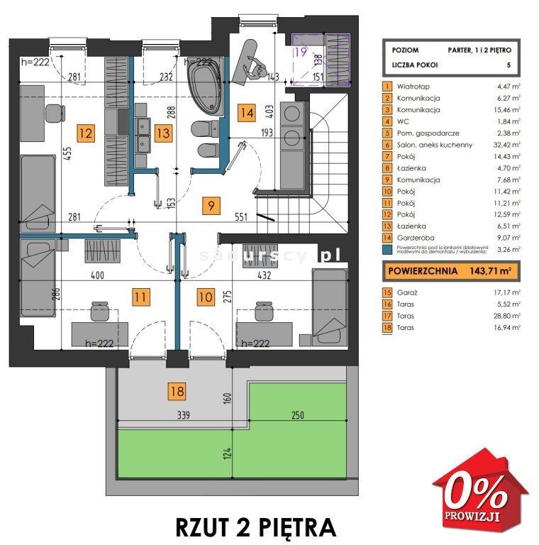 Mieszkanie na sprzedaż Kraków, Dębniki, Kliny, Komuny Paryskiej - okolice  161m2 Foto 4