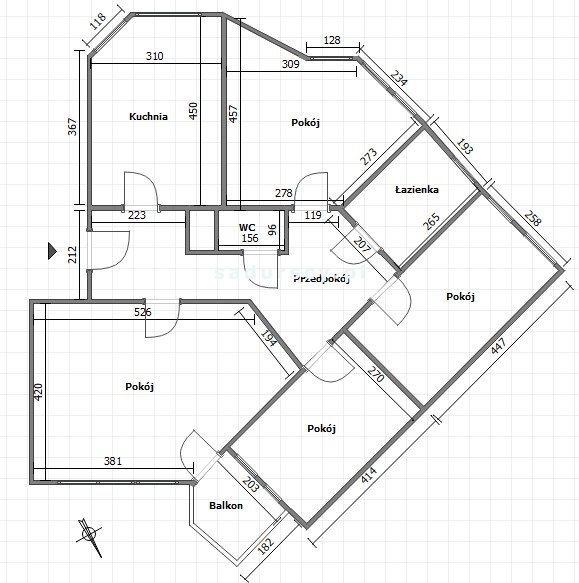 Mieszkanie czteropokojowe  na sprzedaż Kraków, Grzegórzki, Ugorek, Fiołkowa  95m2 Foto 3