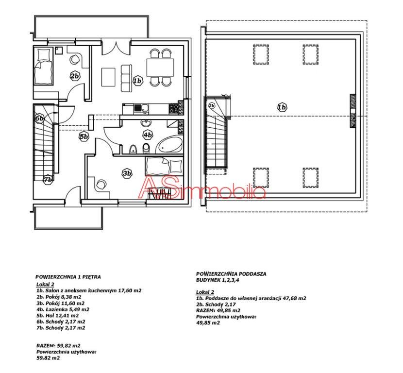 Mieszkanie trzypokojowe na sprzedaż Marki, Błękitna  113m2 Foto 2