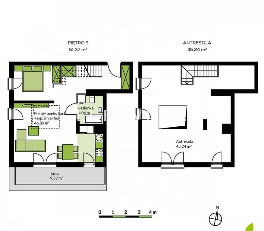 Mieszkanie czteropokojowe  na sprzedaż Konstancin-Jeziorna, Ogrodowa  96m2 Foto 2