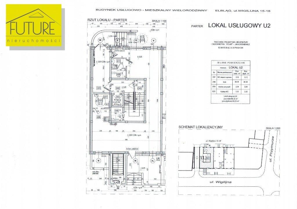 Lokal użytkowy na sprzedaż Elbląg, Wigilijna  95m2 Foto 8