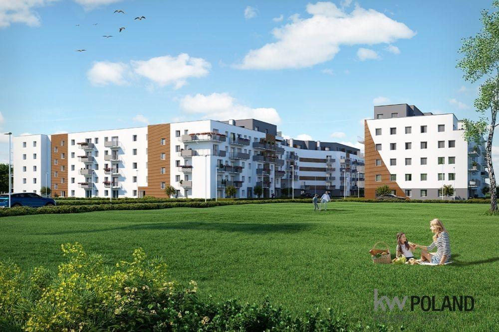 Mieszkanie trzypokojowe na sprzedaż Poznań, Nowe Miasto, abpa Walentego Dymka  50m2 Foto 3