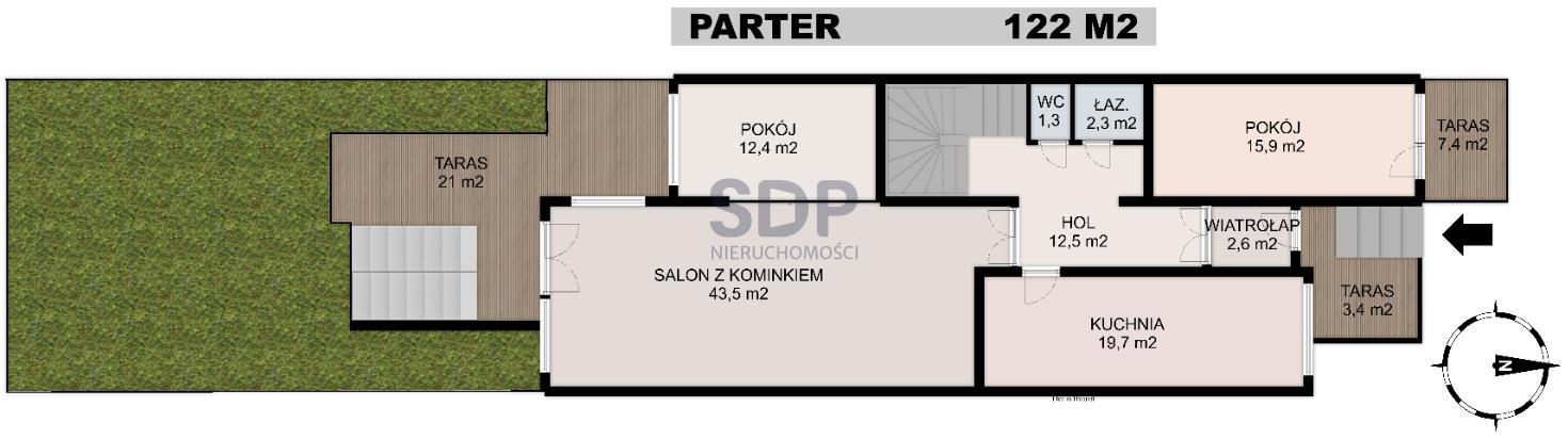 Dom na sprzedaż Wrocław, Krzyki, Partynice, ok. Ołtaszyńskiej  411m2 Foto 1