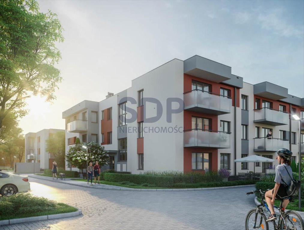 Mieszkanie dwupokojowe na sprzedaż Wrocław, Psie Pole, Wojnów, Perkusyjna  53m2 Foto 1