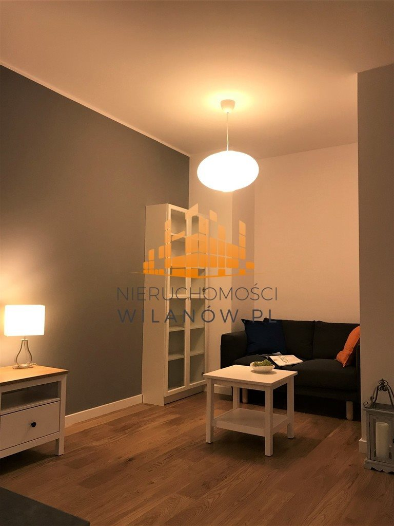 Mieszkanie dwupokojowe na wynajem Warszawa, Wilanów, Sarmacka  43m2 Foto 10