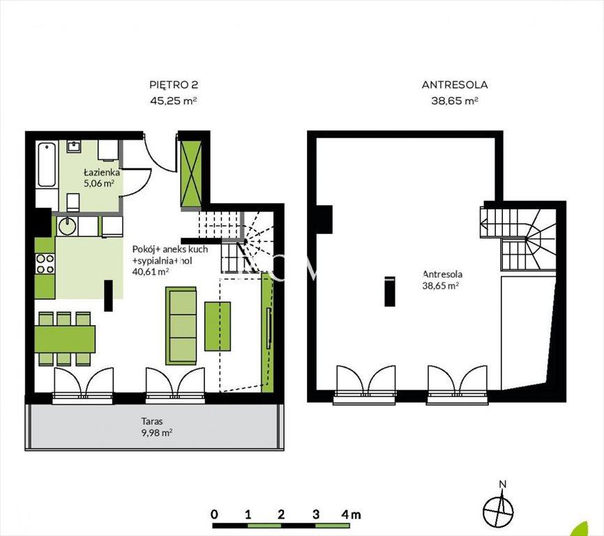 Mieszkanie czteropokojowe  na sprzedaż Konstancin-Jeziorna, Ogrodowa  84m2 Foto 2