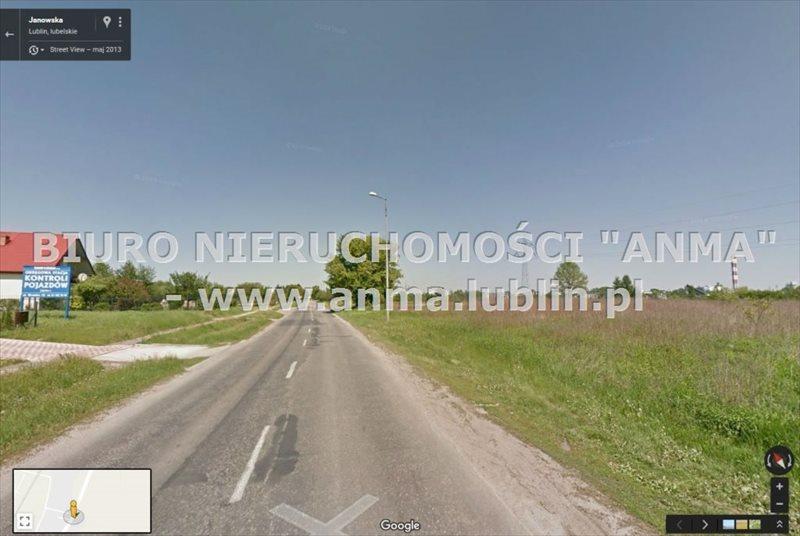 Działka budowlana na sprzedaż Lublin, Wrotków, Janowska  2465m2 Foto 1