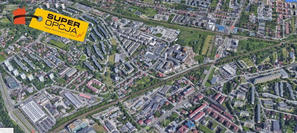 Działka inwestycyjna na sprzedaż Kraków, Krowodrza  5900m2 Foto 1