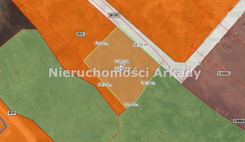 Działka inwestycyjna na sprzedaż Jastrzębie-Zdrój, Centrum, Aleja Jana Pawła II  2400m2 Foto 2