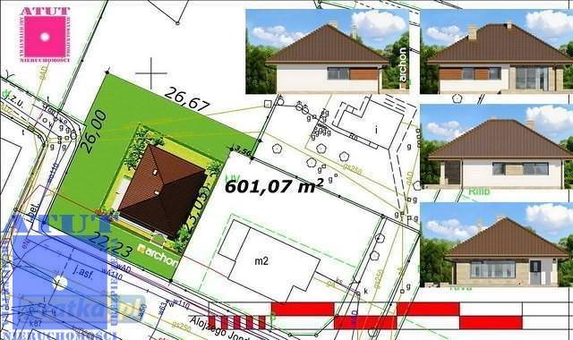 Działka budowlana na sprzedaż Gliwice  600m2 Foto 2