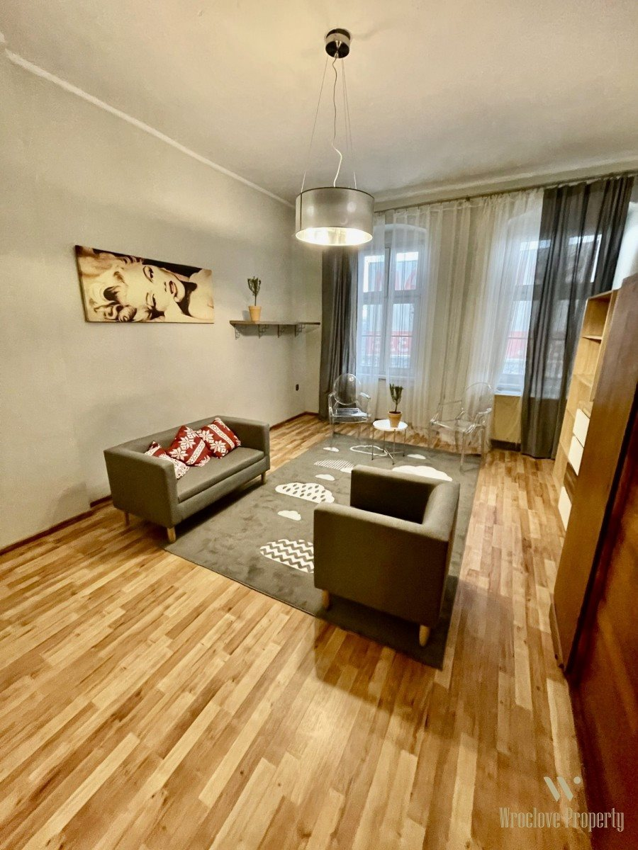 Mieszkanie dwupokojowe na sprzedaż Wrocław, Śródmieście, Powstańców Wielkopolskich  58m2 Foto 1