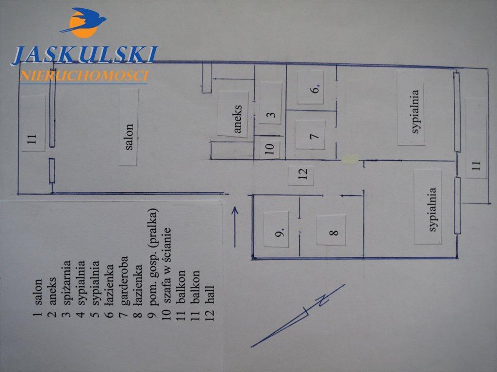Mieszkanie trzypokojowe na sprzedaż Warszawa, Praga-Południe Grochów, Dęby  77m2 Foto 9