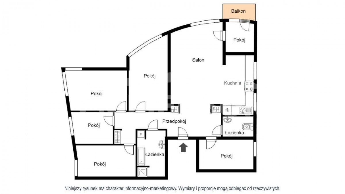 Mieszkanie na sprzedaż Warszawa, Praga-Południe, Al. Stanów Zjednoczonych  135m2 Foto 2