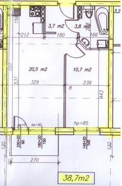 Mieszkanie dwupokojowe na wynajem Pabianice, Nowe 2 pokoje, winda, balkon, miejsce postojowe, Centrum  39m2 Foto 3