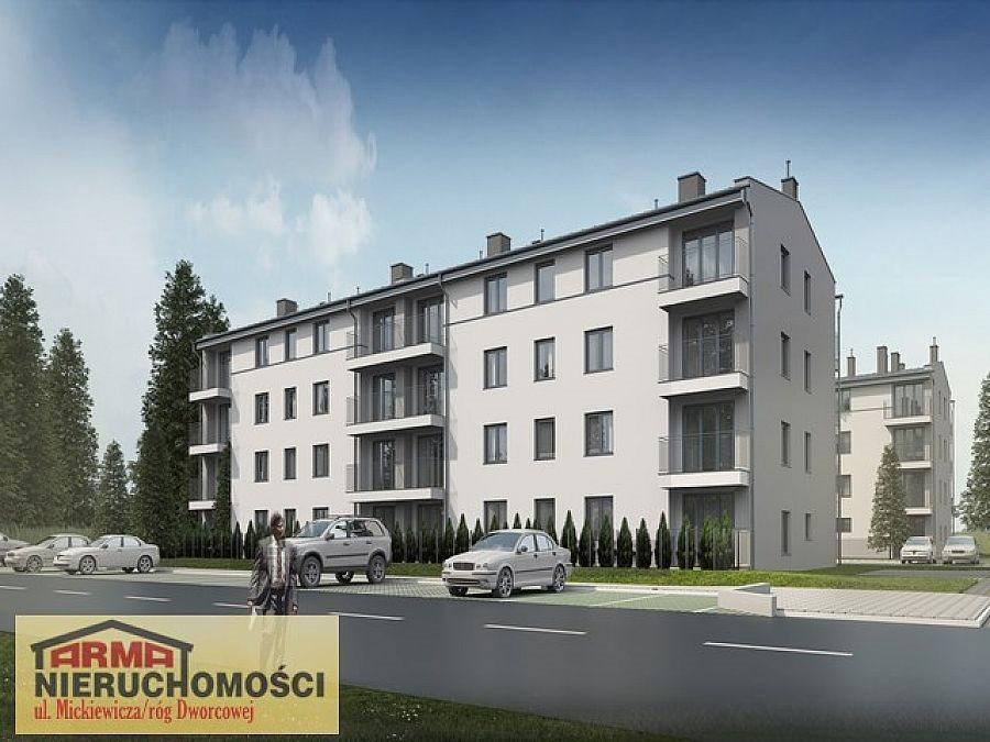 Mieszkanie trzypokojowe na sprzedaż Stargard, Stare Miasto, Gdańska  58m2 Foto 1