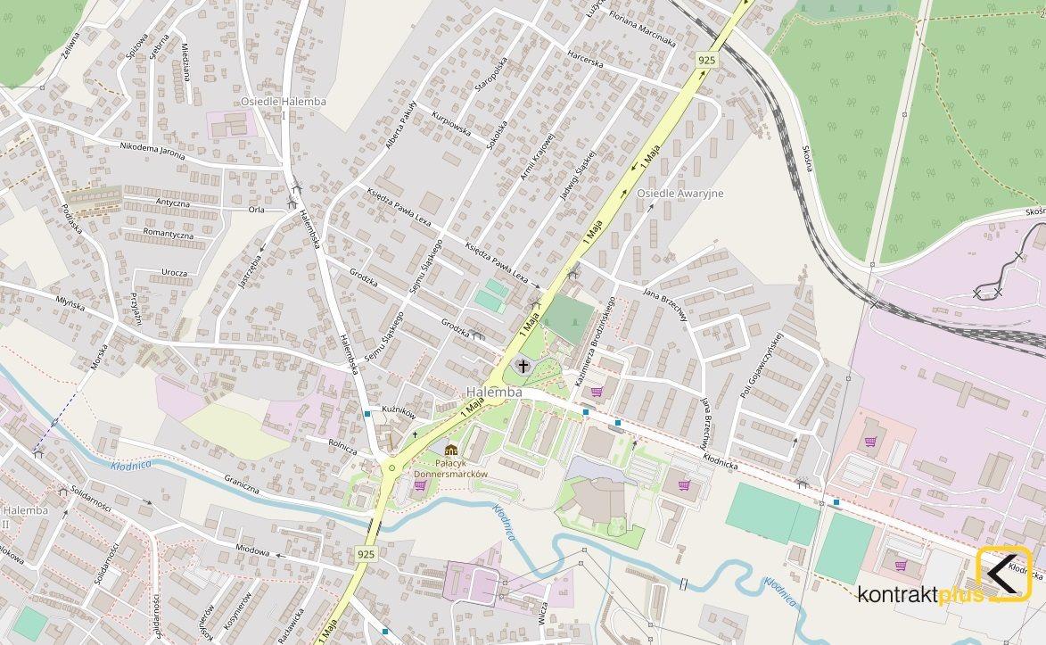 Lokal użytkowy na wynajem Ruda Śląska, Halemba, 1 Maja  260m2 Foto 1