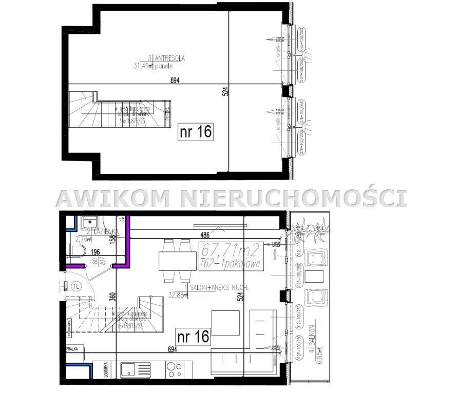 Mieszkanie dwupokojowe na sprzedaż Grodzisk Mazowiecki, Centrum, Henryka Sienkiewicza  68m2 Foto 8