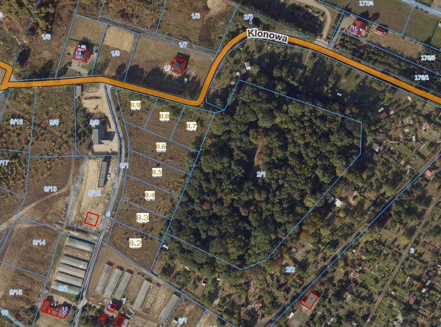 Działka budowlana na sprzedaż Grudziądz  1184m2 Foto 1