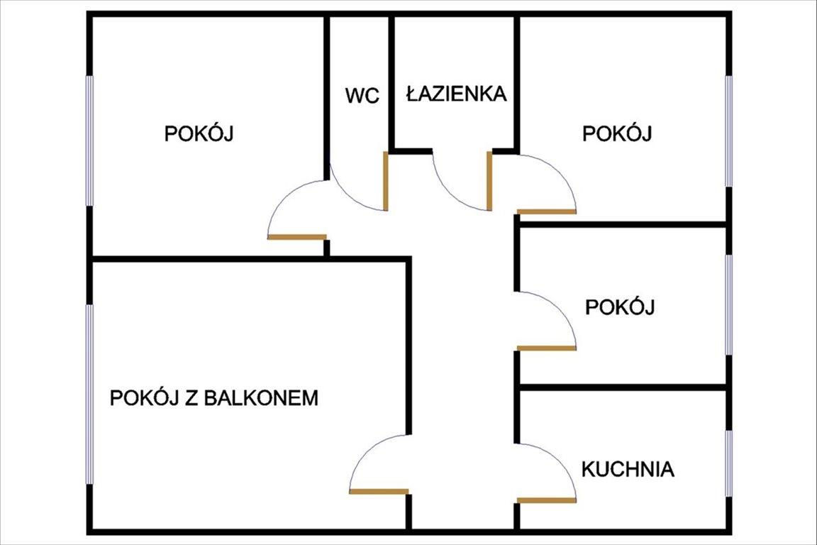Mieszkanie czteropokojowe  na sprzedaż Toruń, Toruń, Kołłątaja  74m2 Foto 2