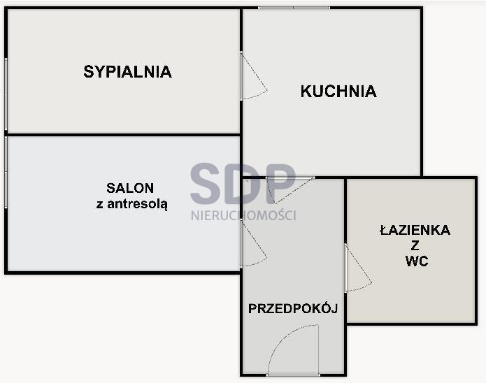 Mieszkanie dwupokojowe na sprzedaż Wrocław, Krzyki, Borek, ok. Sudeckiej  52m2 Foto 6