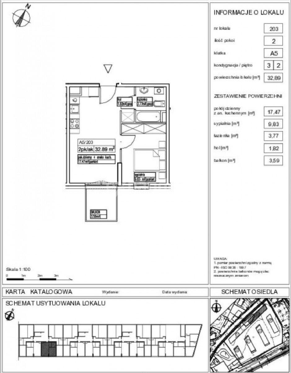 Mieszkanie dwupokojowe na sprzedaż Pruszków, Henryka Sienkiewicza  33m2 Foto 1