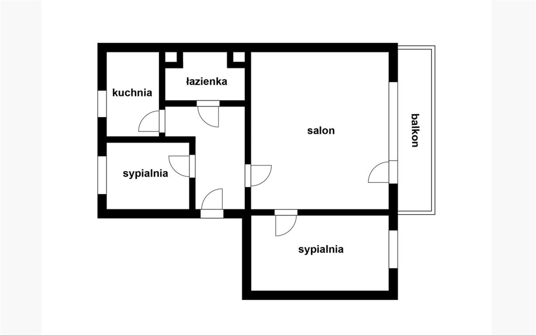 Mieszkanie trzypokojowe na sprzedaż Kraków, Podgórze, Płaszów, Wielicka  62m2 Foto 8