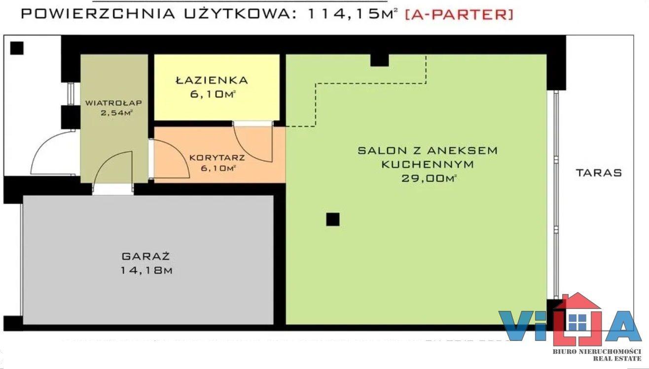 Dom na sprzedaż Zielona Góra, Racula  114m2 Foto 2