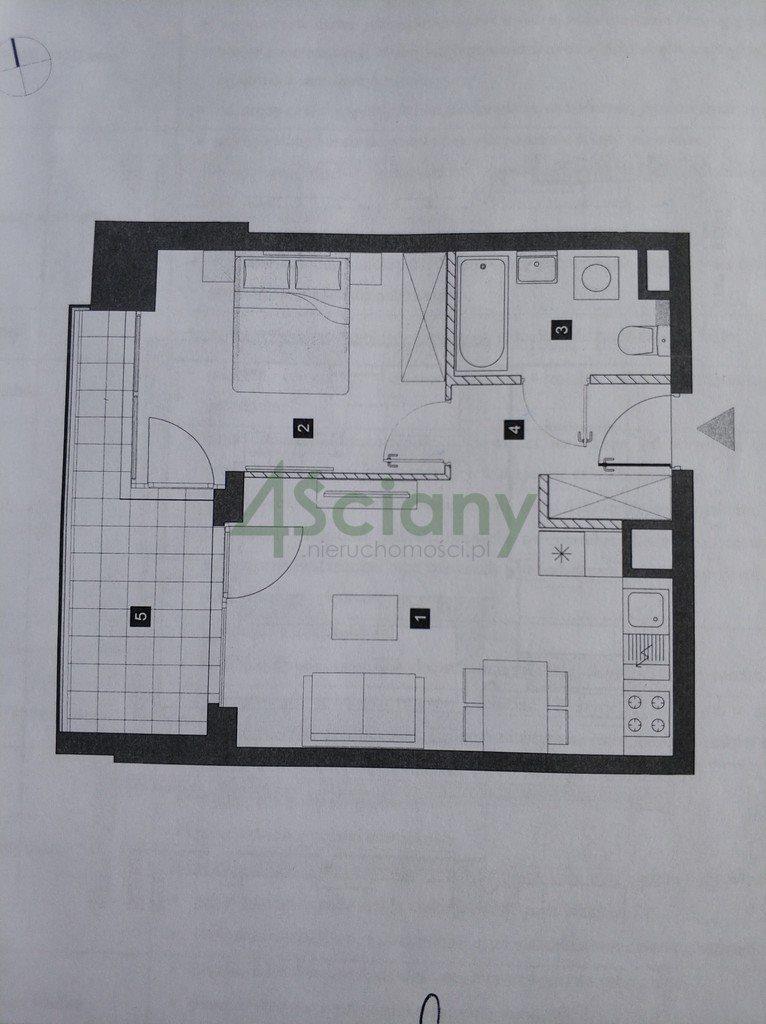 Mieszkanie dwupokojowe na wynajem Warszawa, Mokotów, Białej Floty  44m2 Foto 2