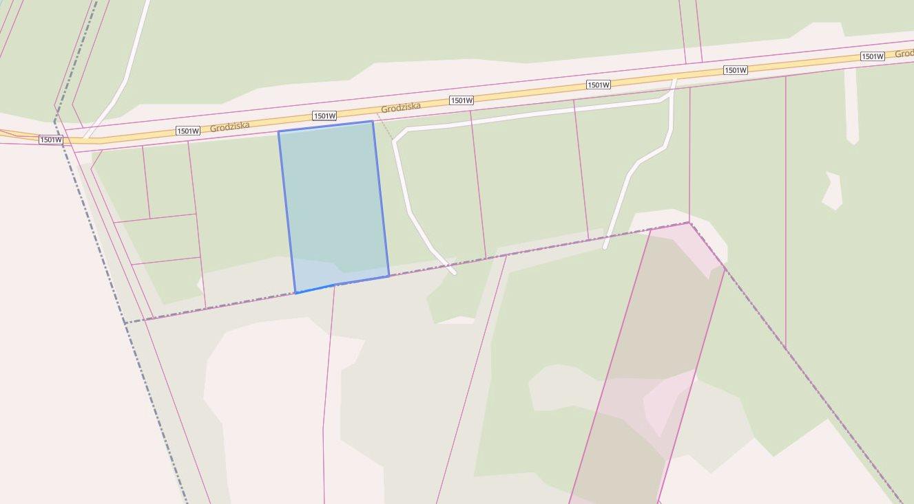 Działka budowlana na sprzedaż Nadarzyn, Stara Wieś, Grodziska  4300m2 Foto 2