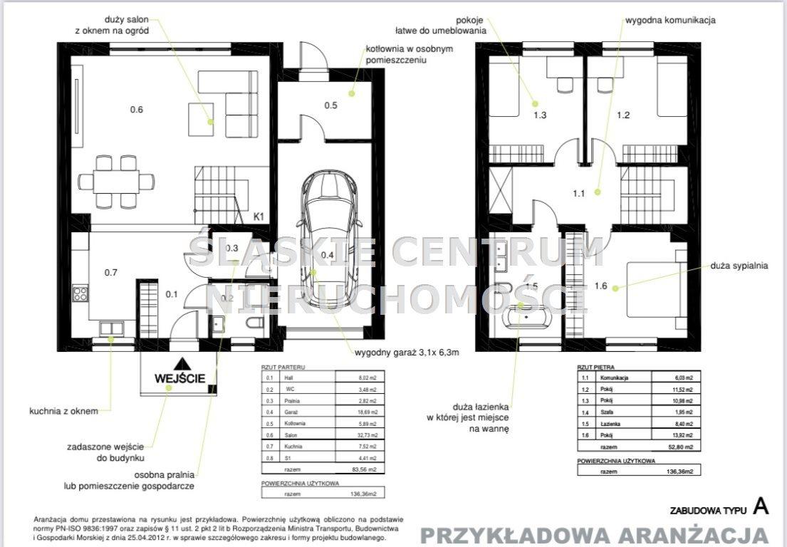 Dom na sprzedaż Mikołów, Gniotek, Staropodleska  136m2 Foto 9