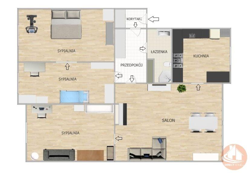 Mieszkanie czteropokojowe  na sprzedaż Chorzów, Chorzów Batory, Racjonalizatorów  86m2 Foto 12