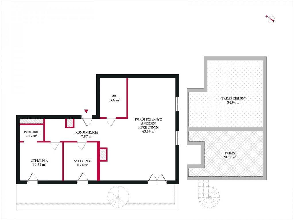 Mieszkanie trzypokojowe na sprzedaż Poznań, Rataje, Milczańska  79m2 Foto 11