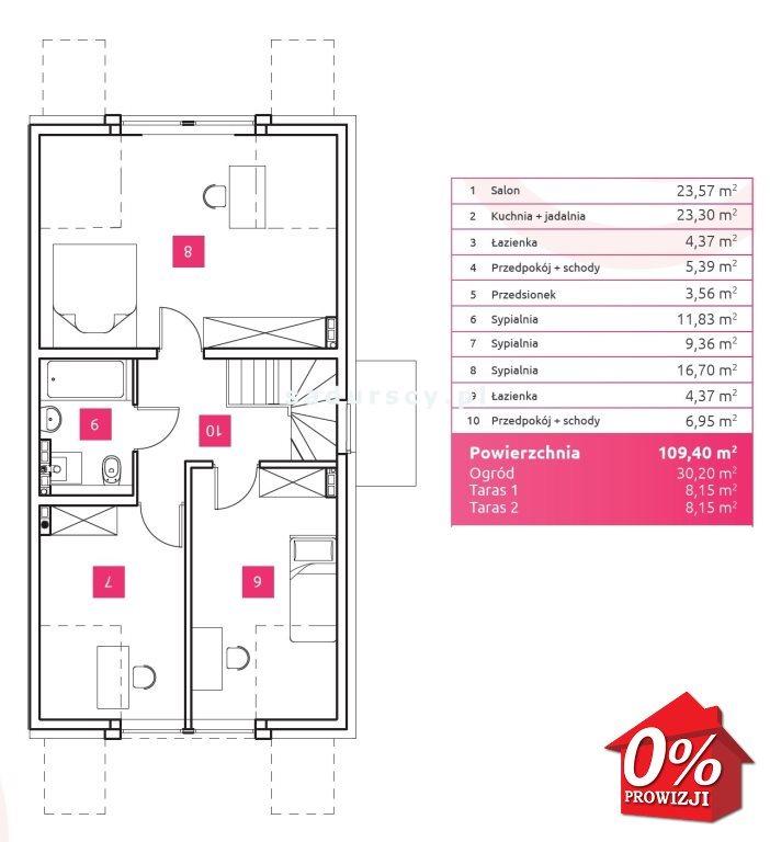 Mieszkanie czteropokojowe  na sprzedaż Wieliczka, Wieliczka, Wieliczka, Chabrowa - okolice  109m2 Foto 4