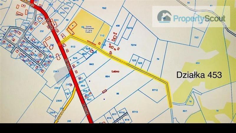 Działka budowlana na sprzedaż Łebno, Szkolna  81414m2 Foto 3