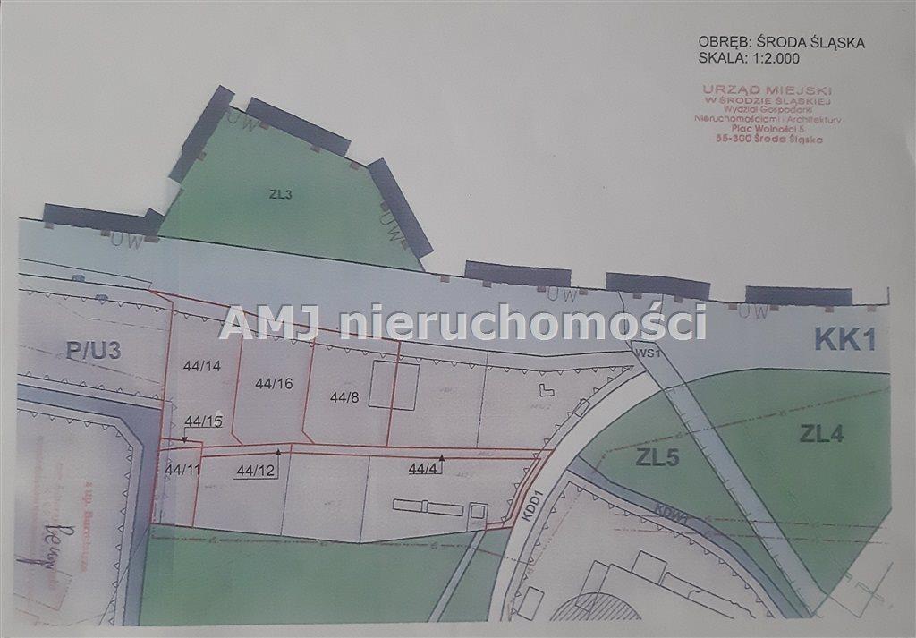 Działka przemysłowo-handlowa na sprzedaż Środa Śląska  10470m2 Foto 2