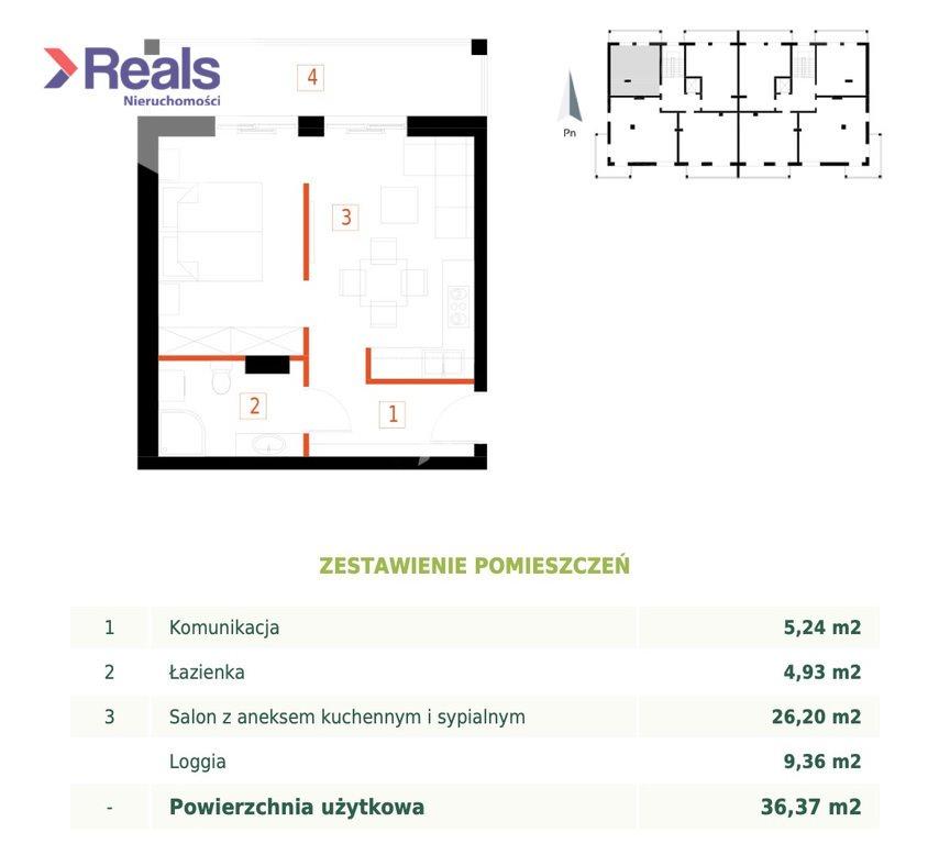 Mieszkanie dwupokojowe na sprzedaż Przemyśl, Bakończyce, Żołnierzy I Armii Wojska Polskiego  36m2 Foto 2