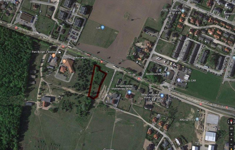 Działka inna pod dzierżawę Gdańsk, Kokoszki, Kartuska  2970m2 Foto 1