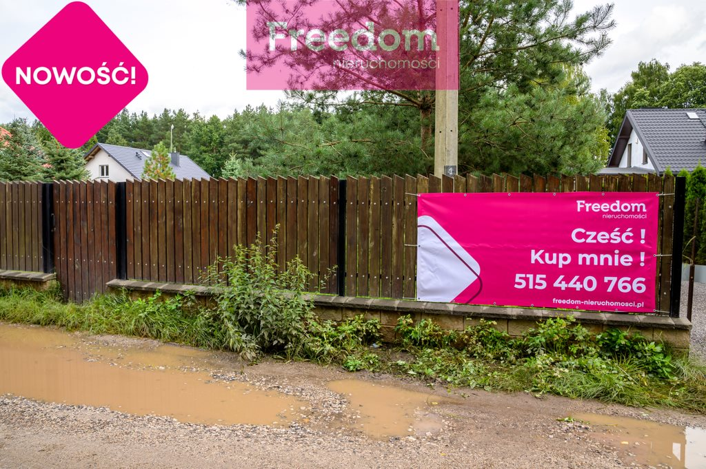Działka budowlana na sprzedaż Mleczków  1042m2 Foto 2