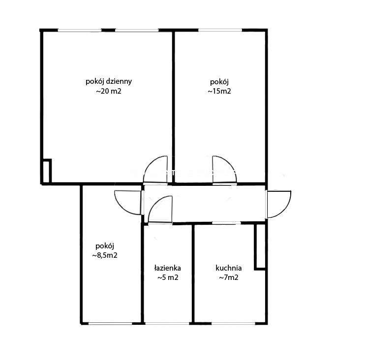 Mieszkanie trzypokojowe na sprzedaż Gdańsk, Wrzeszcz, Adama Mickiewicza  62m2 Foto 11