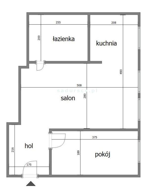 Mieszkanie dwupokojowe na sprzedaż Kraków, Krowodrza, Łobzów, Galla  34m2 Foto 3