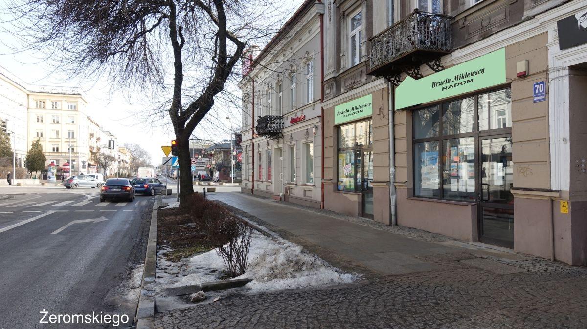 Lokal użytkowy na wynajem Radom, Centrum, Stefana Żeromskiego  72m2 Foto 4