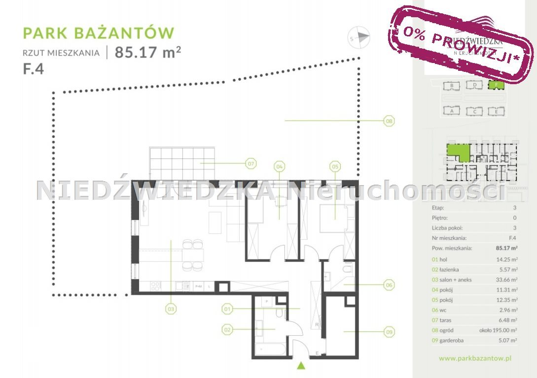 Mieszkanie trzypokojowe na sprzedaż Katowice, Kostuchna, Bażantowo  85m2 Foto 11