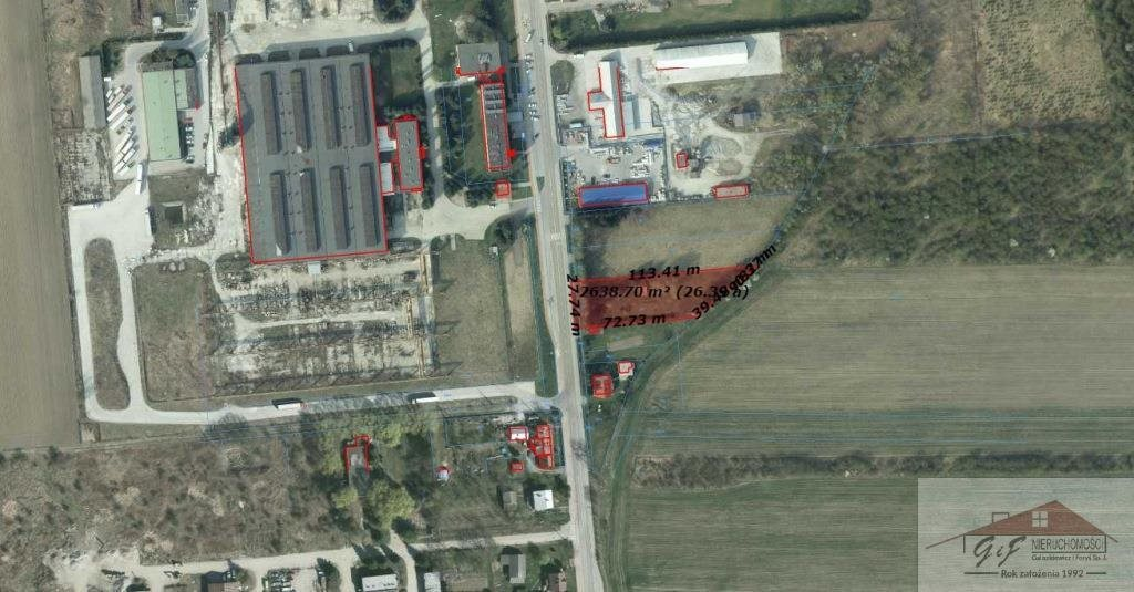 Działka przemysłowo-handlowa na sprzedaż Przemyśl, Ofiar Katynia  2622m2 Foto 7