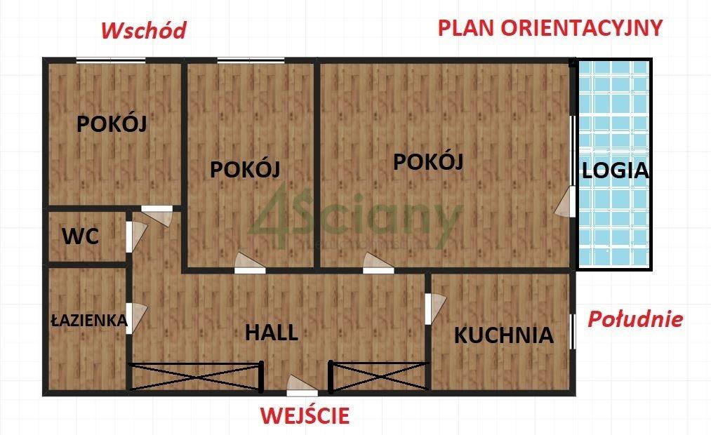Mieszkanie trzypokojowe na sprzedaż Warszawa, Bielany, Chomiczówka, Josepha Conrada  58m2 Foto 2
