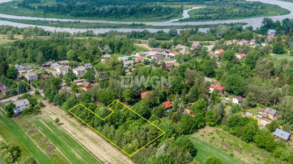 Działka budowlana na sprzedaż Kuligów, Kuligów, WP  2205m2 Foto 1