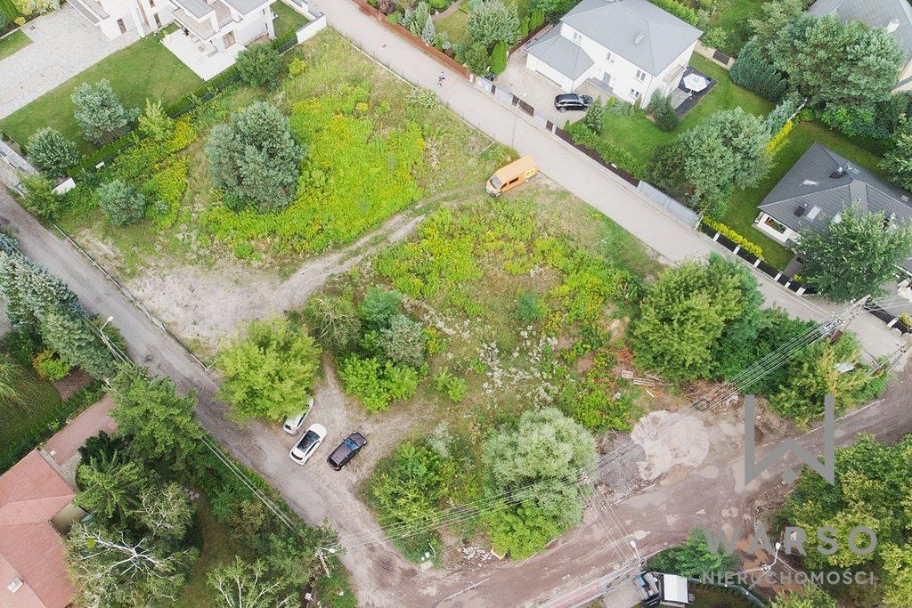 Działka budowlana na sprzedaż Łomianki, Dąbrowa Leśna, gen. Wojciecha Borzobohatego  1332m2 Foto 1