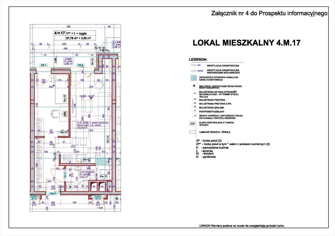 Mieszkanie dwupokojowe na sprzedaż Świnoujście, centrum, Bohaterów Września  38m2 Foto 1
