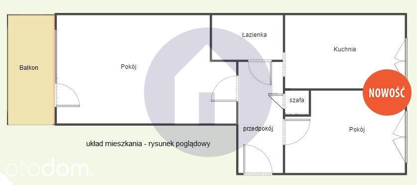 Mieszkanie dwupokojowe na sprzedaż Lubin  44m2 Foto 7