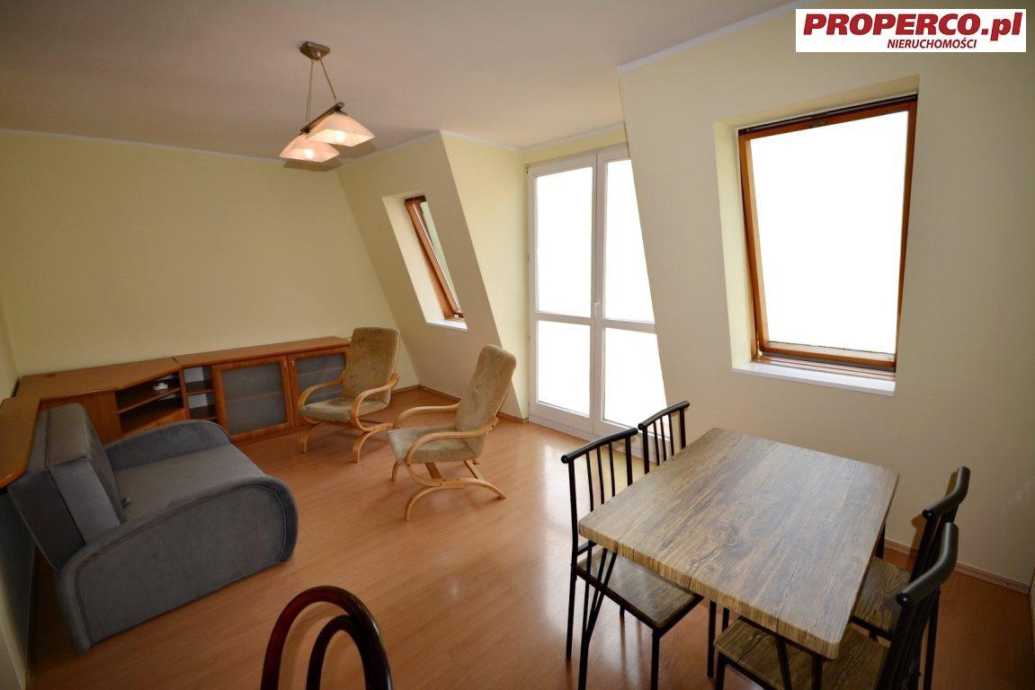 Mieszkanie trzypokojowe na wynajem Kielce, Centrum, Nowy Świat  55m2 Foto 3