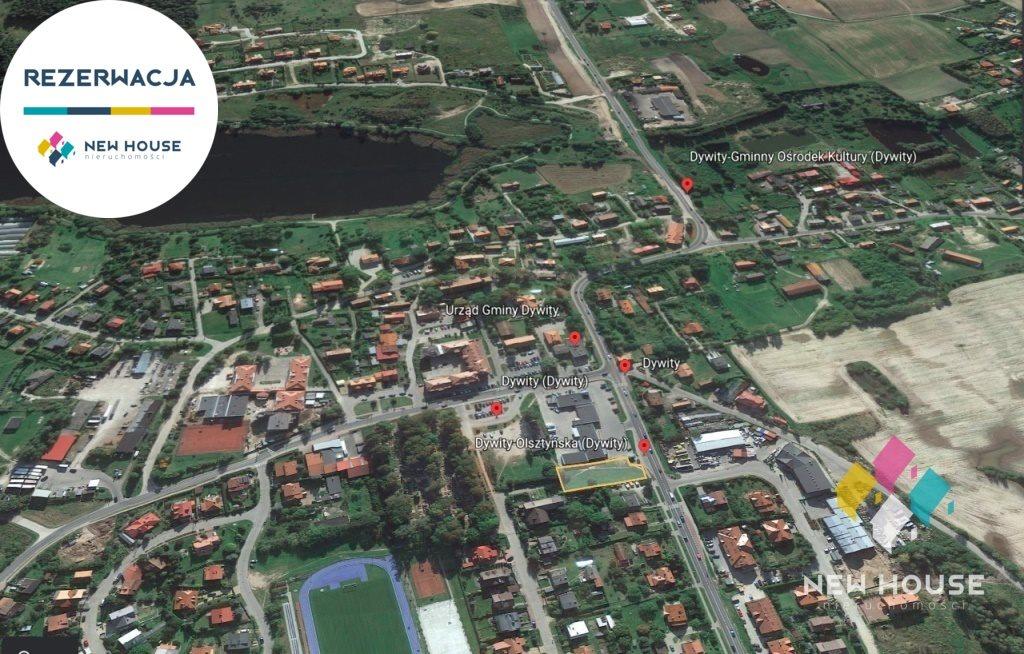 Działka komercyjna na sprzedaż Dywity, Olsztyńska  1127m2 Foto 2